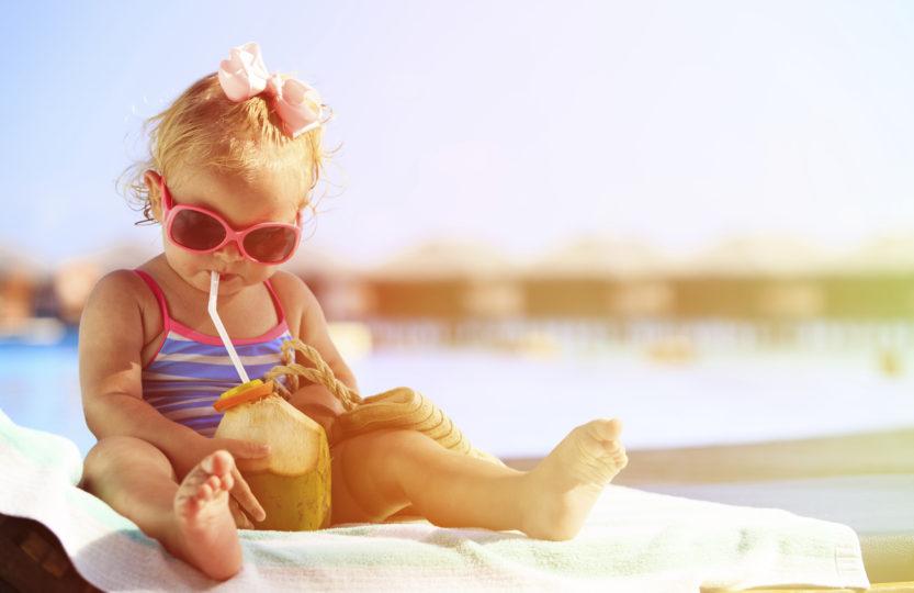 Péče o kůži dětí v létě